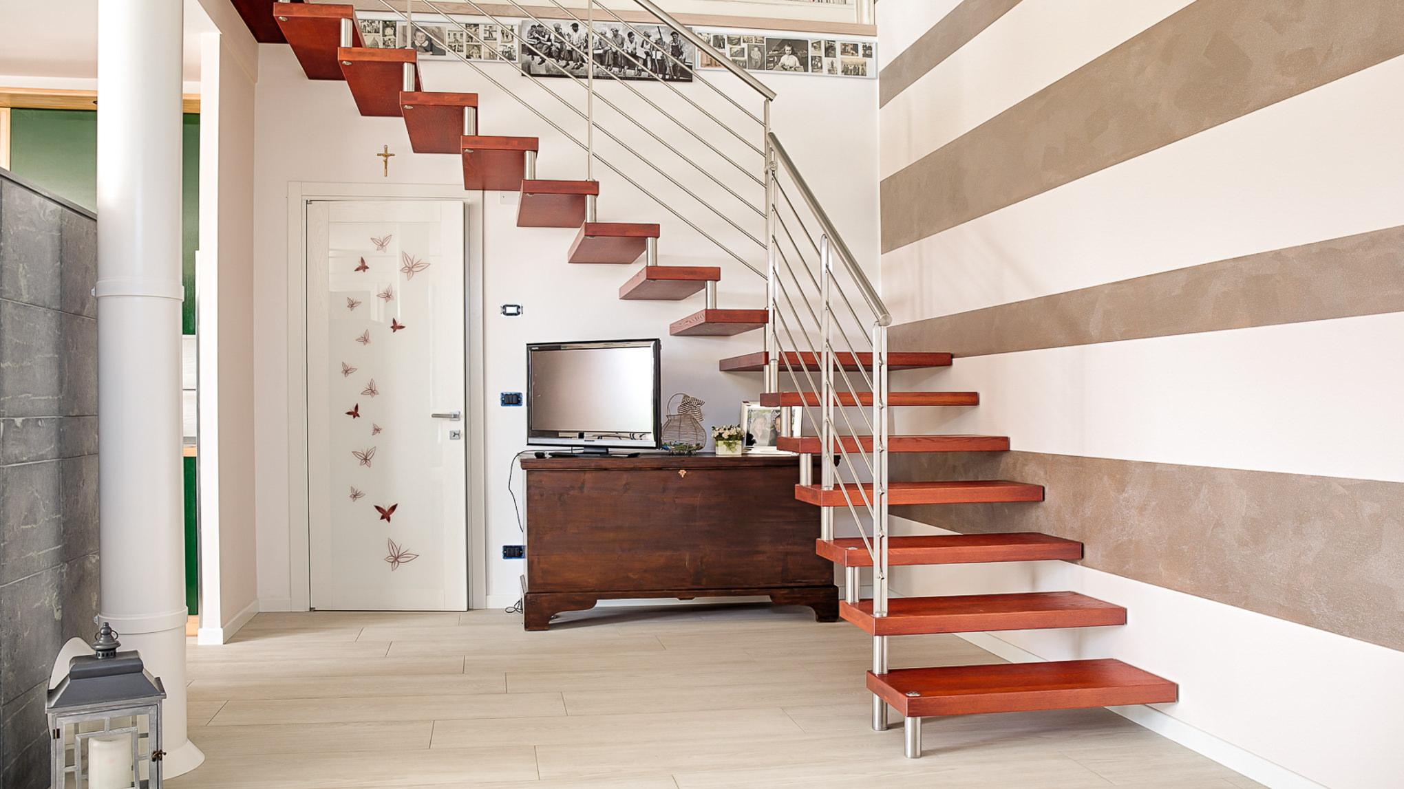 Rivestimenti scale in legno zl parquet - Scale prefabbricate in legno ...